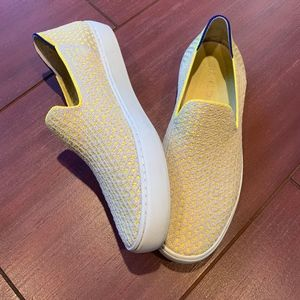 Rothy's Sunshine Honeycomb sneakers/loafers